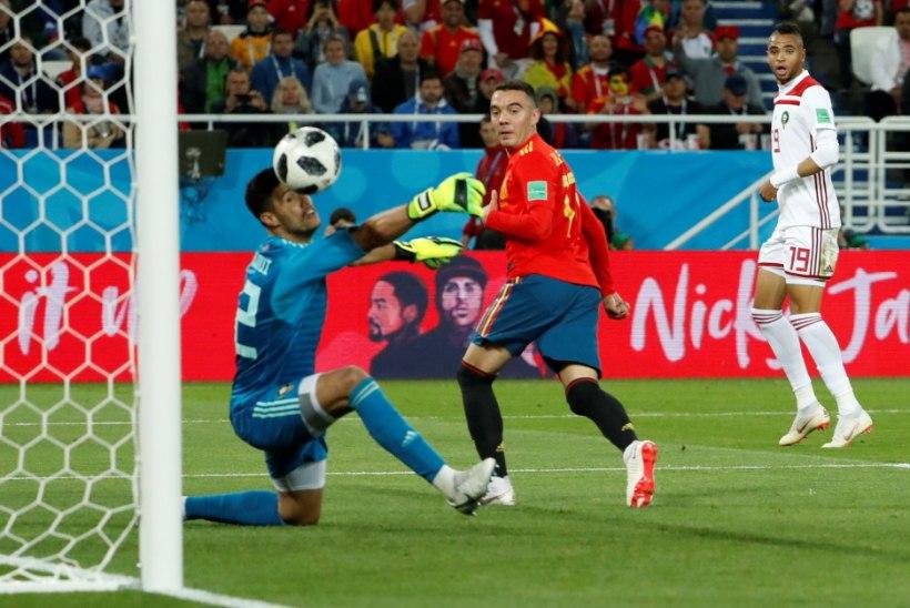 NII SEE JUHTUS | Jalgpalli MM: Hispaania võitis Portugali ees alagrupi tänu löödud väravate arvule