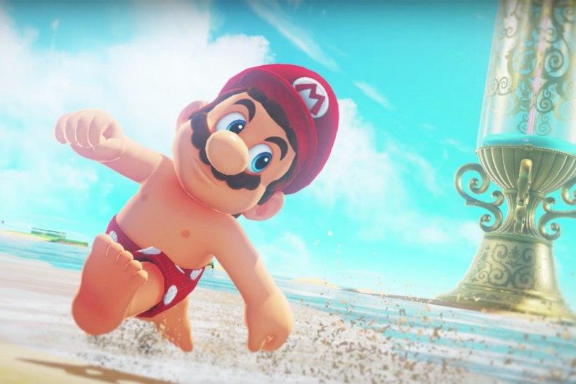 """""""Super Mario"""" mängu on tunginud lastele keelatud ebasündsad pildid"""