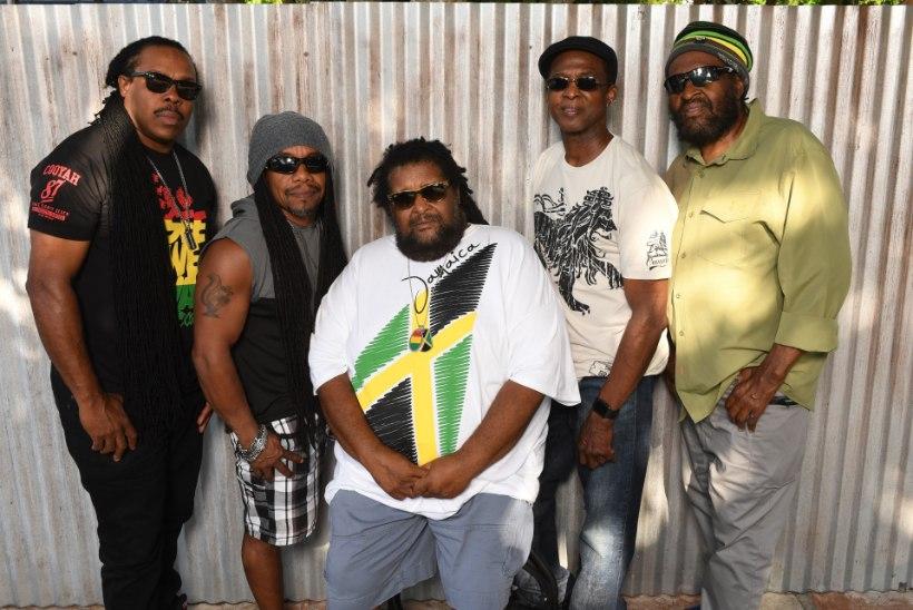 Legendaarne Jamaica reggae bänd Inner Circle tähistab Tallinnas oma 50. sünnipäeva