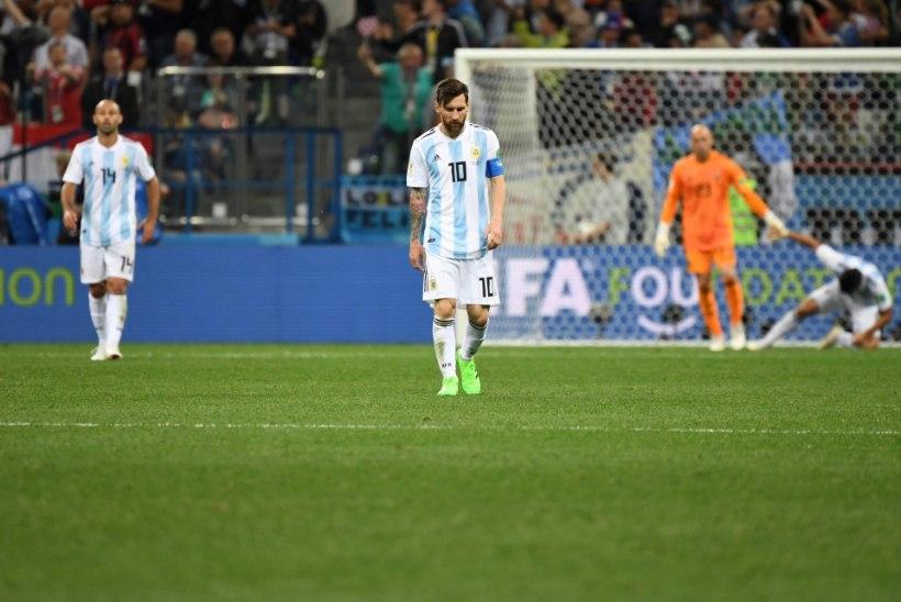 27787916688 NII SEE JUHTUS I Jalgpalli MM: Messi ja Argentiina pääsesidki katastroofist!