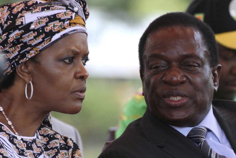 Mnangagwa süüdistab talle tehtud atendaadikatses Grace Mugabet