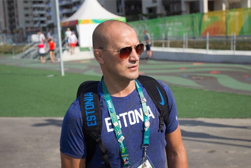 Aleksei Budõlini olümpiapronks läks kaotsi
