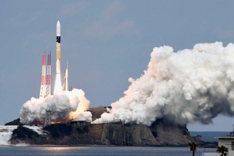 Jaapanlaste Hayabusa 2 jõudis viimaks teemantikujulise asteroidini