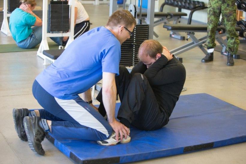 Sisekaitseakadeemiasse sisseastujad põruvad, kuna ei jõua istesse tõusta ega kätekõverdusi teha