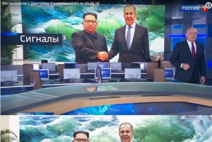 FOTOUUDIS   Vene telekanal manas morni Kimi näole õnnelikuma ilme