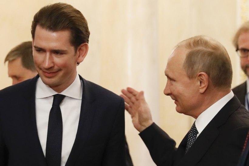 KOHTUMINE VIINIS: Putinit turvab tuhatkond Austria sõdurit