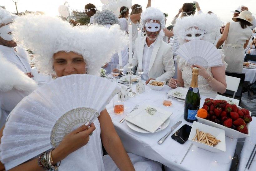 GALERII | Pariisis toimus maailma glamuurseim gurmeepiknik