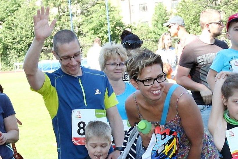 PILDID | Anu Välba peres kasvab tulevane maratonijooksja