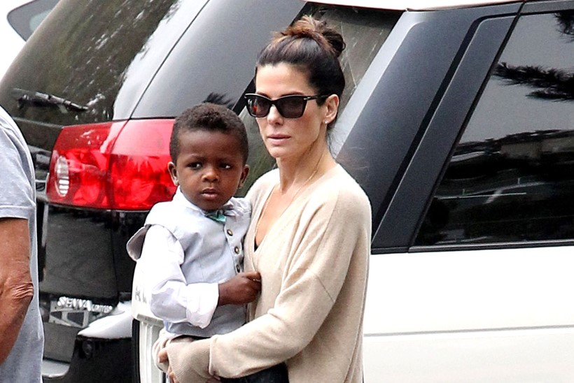 Orkaan Katrina veenis Sandra Bullockit lapsendama