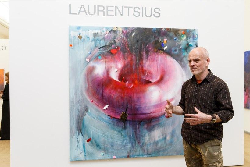 Laurentsius näitab oma viiemeetriseid maale Soomes