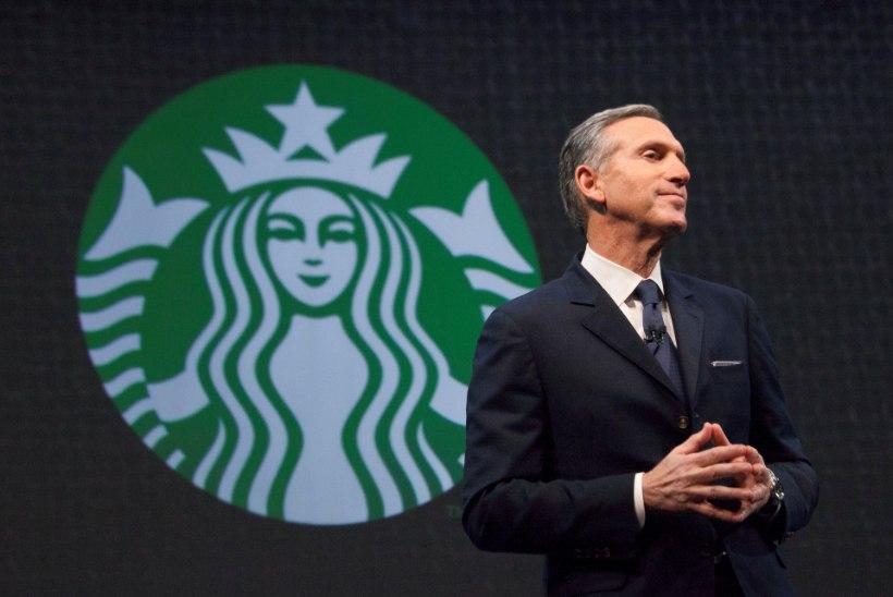 Ametist lahkuv Starbucksi juht soovib saada tulevaseks USA presidendiks?