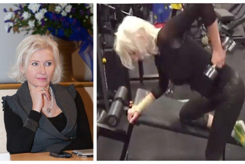 TV3 VIDEO   EESKUJU! 51-aastane Kristiina Ojuland hakkas bikiinifitnessiga tegelema