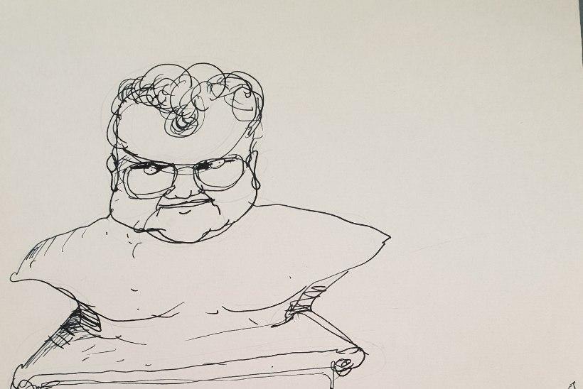 FOTO | Savisaarest jõudis internetti aastakümneid peidus olnud karikatuur
