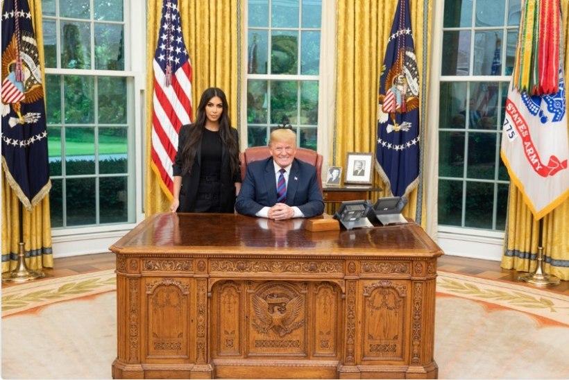 Trump täitis Kim Kardashiani suure soovi