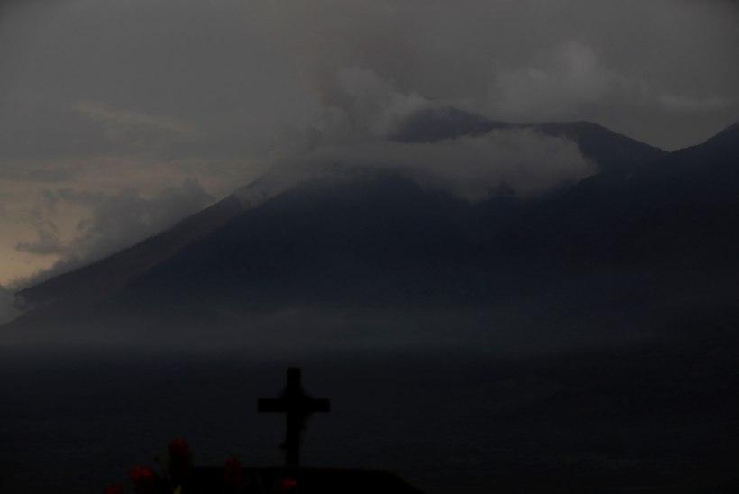 Guatemalas on pärast vulkaanipurset kadunuks jäänud ligi 200 inimest