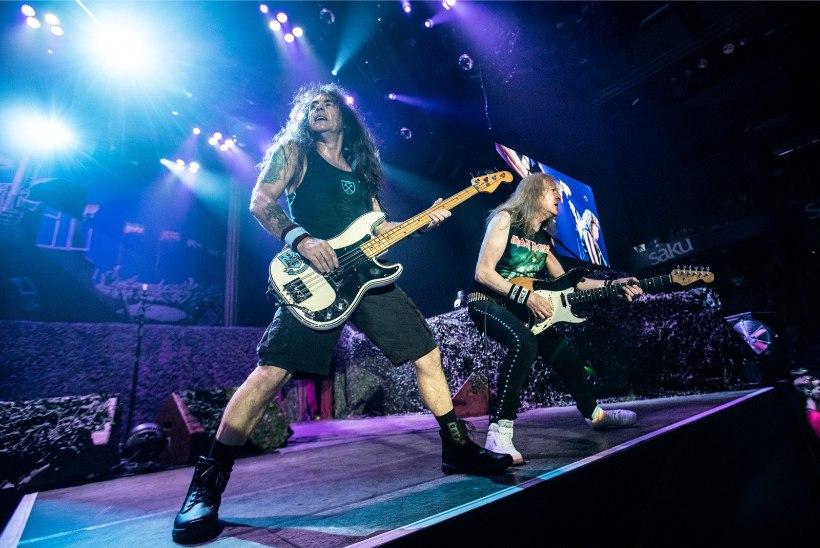 Iron Maidenit pildistati Eestis salaja