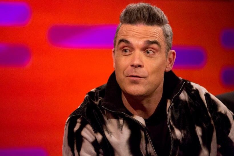 Robbie Williams põgenes põlevast lukshotellist