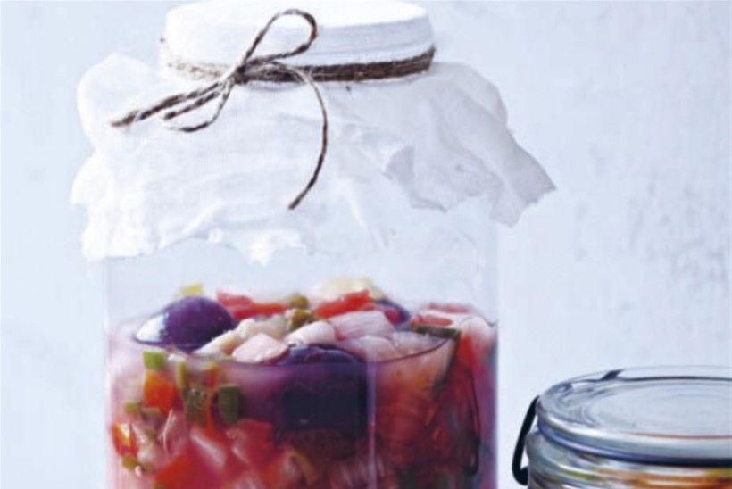 Kääritatud salsa cruda