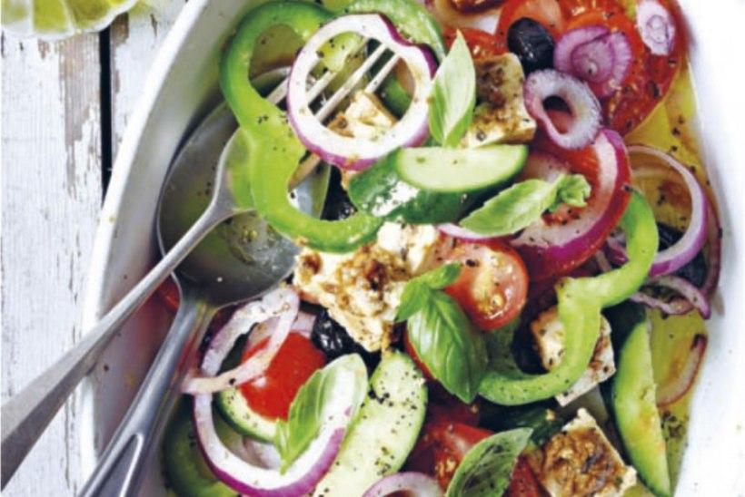 Kreeka salat tofufetaga