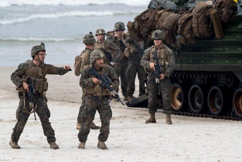 Leedus sai liiklusõnnetuses vigastada 13 USA sõjaväelast
