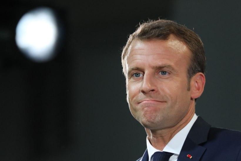 Macron Trumpile viidates: mitte ükski riigijuht pole igavene