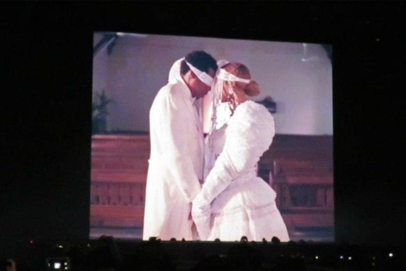 Beyoncé ja Jay-Z uuendasid salamisi abielutõotusi