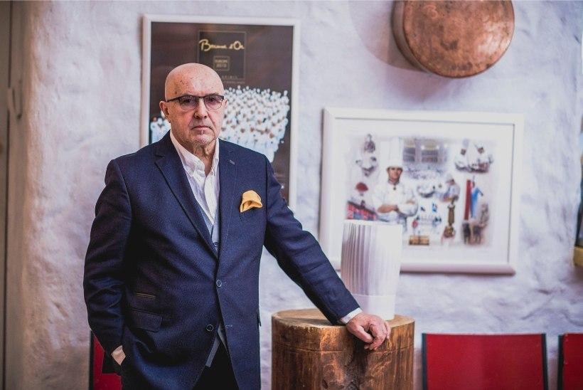 Dimitri Demjanov Bourdainist: ta oli väga intelligentne kokk