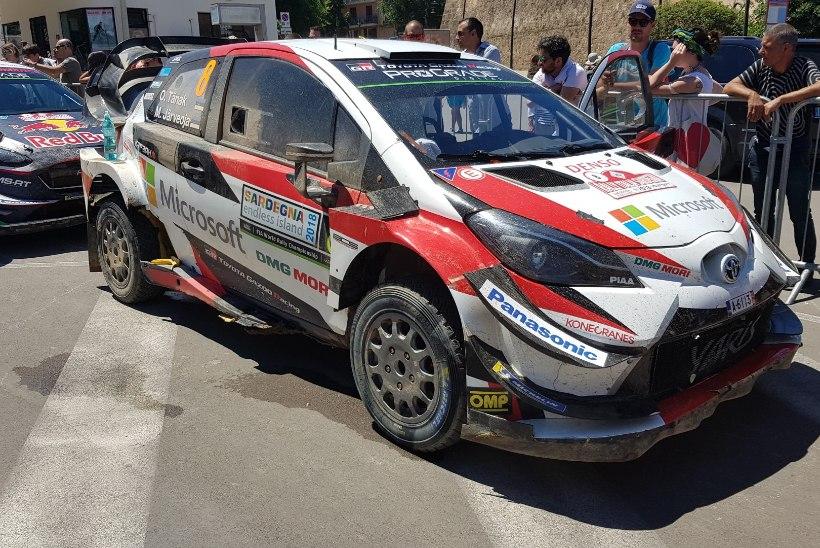 ÕL SARDIINIAS | Järveoja: sihikul on WRC2 mehed ja kaheksas koht