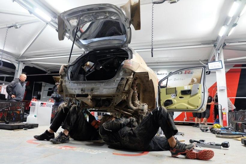 ÕL SARDIINIAS | GALERII | Hilisõhtune aktsioon: Tänaku auto päästmine