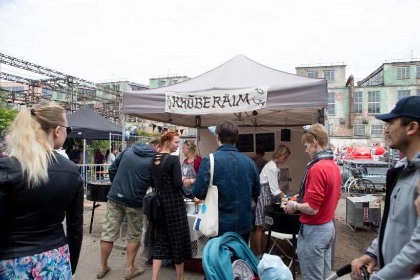 ÕL VIDEO JA GALERII   Tallinna Tänavatoidufestival tõi kokku suure hulga toiduarmastajaid