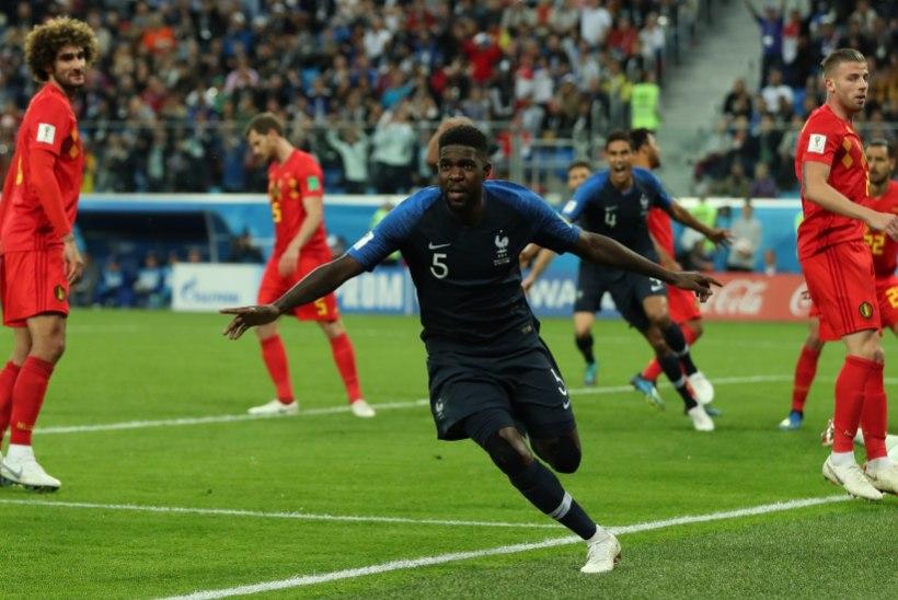 e3cfafd2a18 NII SEE JUHTUS | Jalgpalli MM: Prantsusmaa sammus finaali! | Õhtuleht