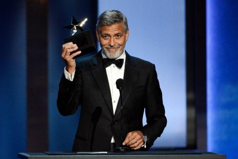 George Clooney sattus Itaalias autoavariisse