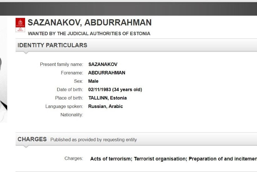 Interpol otsib taga Eestist pärit terroristi