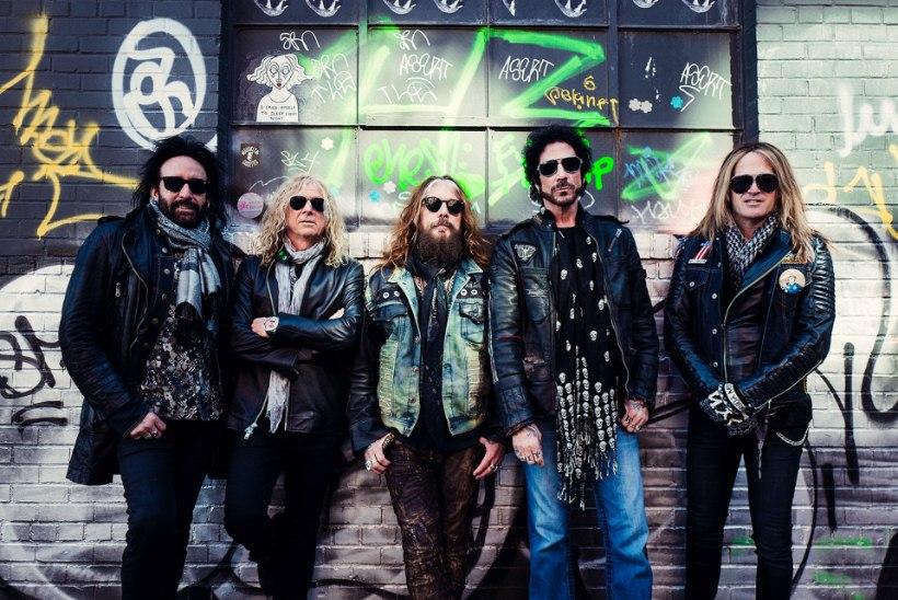 """Mötley Crüe ekslaulja oma uuest bändist: """"Oleme vanad ja näljased mehed!"""""""