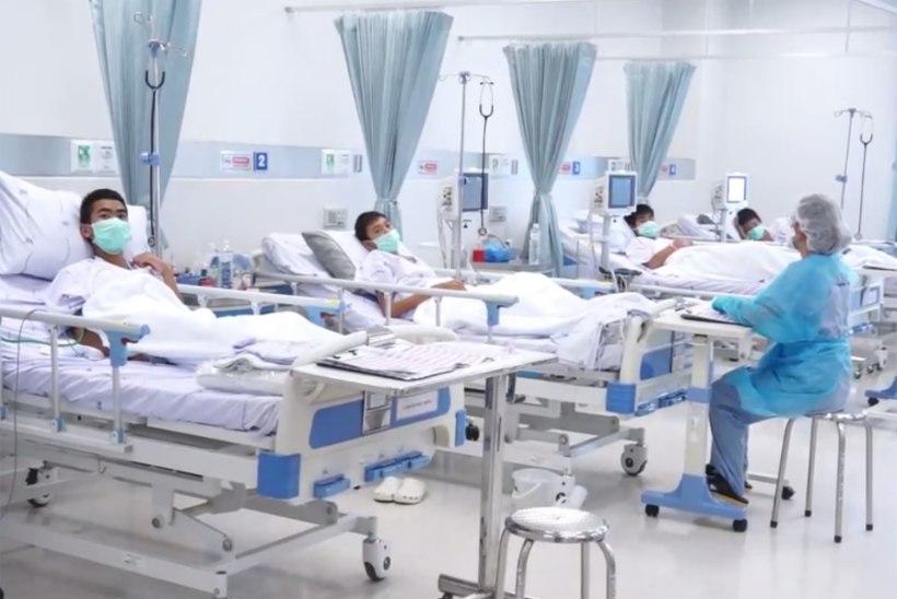 VIDEO | Tai jalgpallipoisid taastuvad haiglas