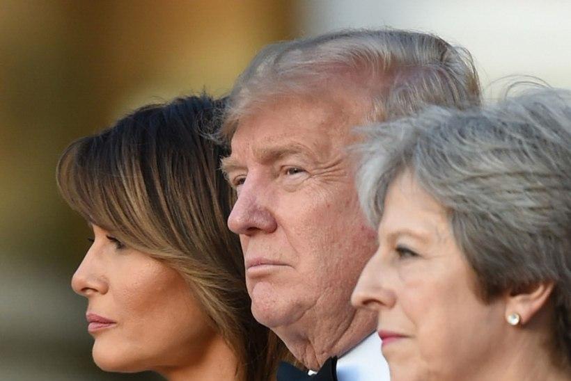 VIDEO | VEIDER HETK: Trump ja May hoidsid teineteisel käest kinni