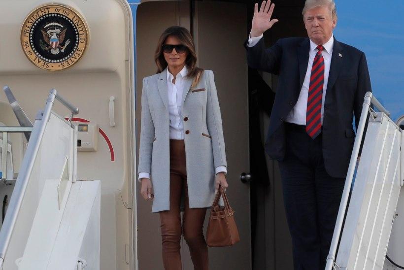 FOTOD | Trump jõudis Soome