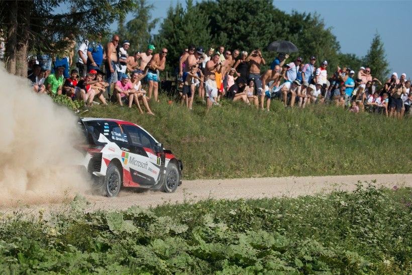 NII SEE JUHTUS | Rally Estonia: Tänak näitas koduradadel võimu!