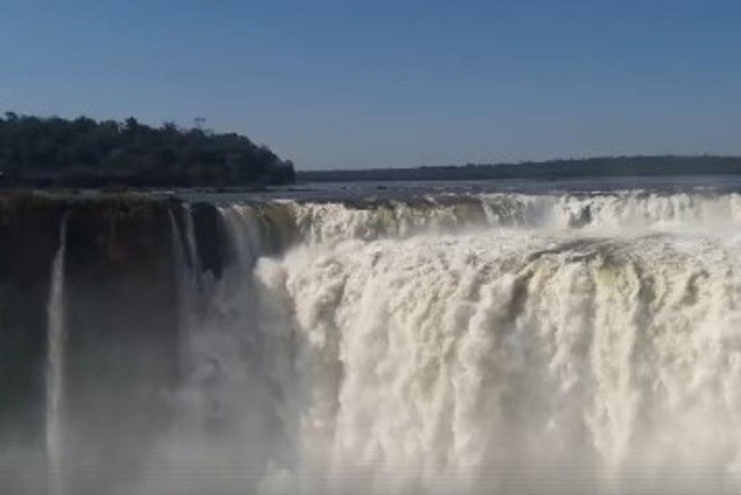 VIDEO | Uhhuduurlane Hannes Hanso jagab võimsaid looduskaadreid maailma suurimast joast