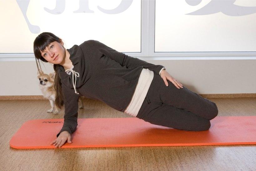 5 sammu: nõrkade lihaste järeleaitamistunnid
