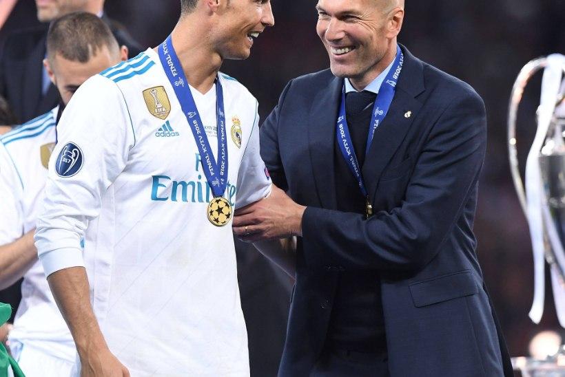 TAASÜHINEMINE RONALDOGA! Zinedine Zidane on Juventusega liitumas