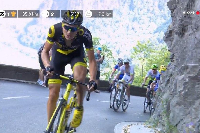 NII SEE JUHTUS | Sport 17.07: Rein Taaramäe jahtis Tour de France'il etapivõitu, Flora kaotas taas