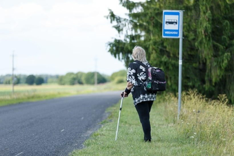 """Töövõimetuspensionär: """"Jätta tasuta ühistranspordist ilma kõige nõrgemad on solvav!"""""""