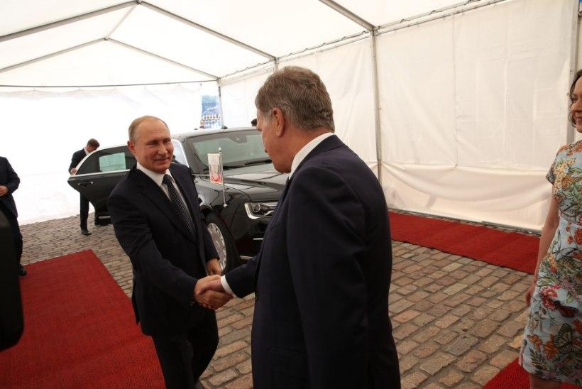 TIHE SUHTLUS: Soome president kohtub 22. augustil taas Venemaa presidendiga