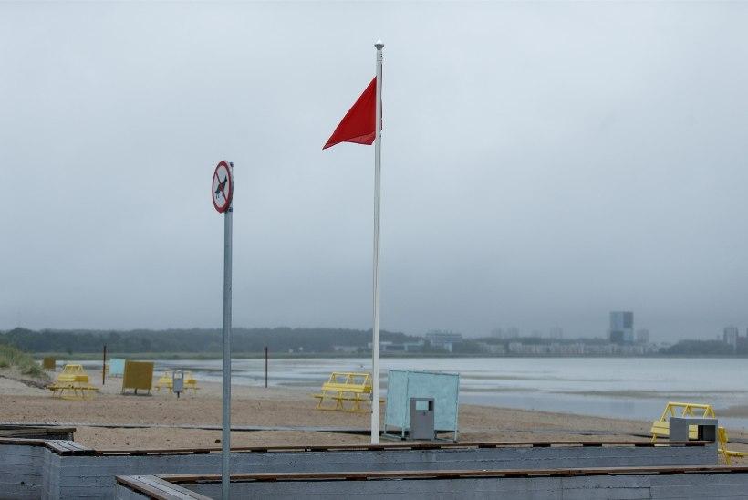 KÜLMAŠOKK: Kakumäel ja Stroomi rannas kukkus veetemperatuur 10 kraadi piirimaile