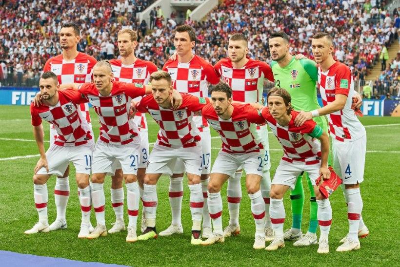 KAS TÕESTI? Prantsusmaa antirassistid: Horvaatia meeskond on liiga valge