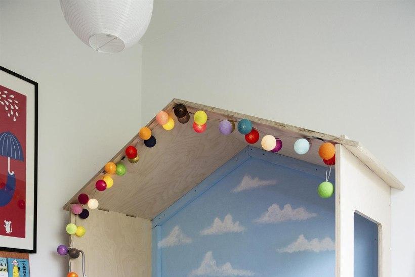 Lase fantaasial lennata! Kujunda põnev sein lastetuppa