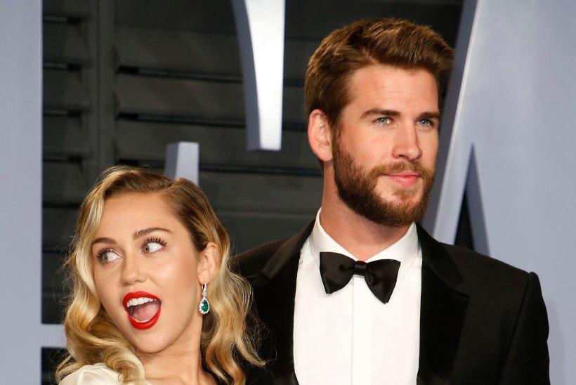 Miley Cyrus ja Liam Hemsworth on taas lahus