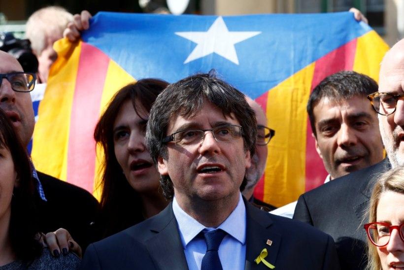 Hispaania tühistas Kataloonia ekspresidendi vahistamiskäsu