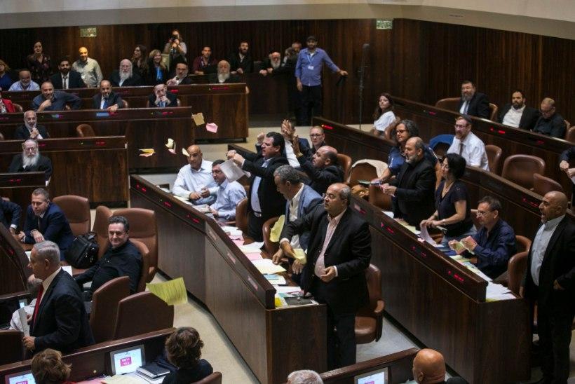 Iisrael astus sammu kahe riigi lahendusest eemale, kuulutades välja juudi rahvusriigi